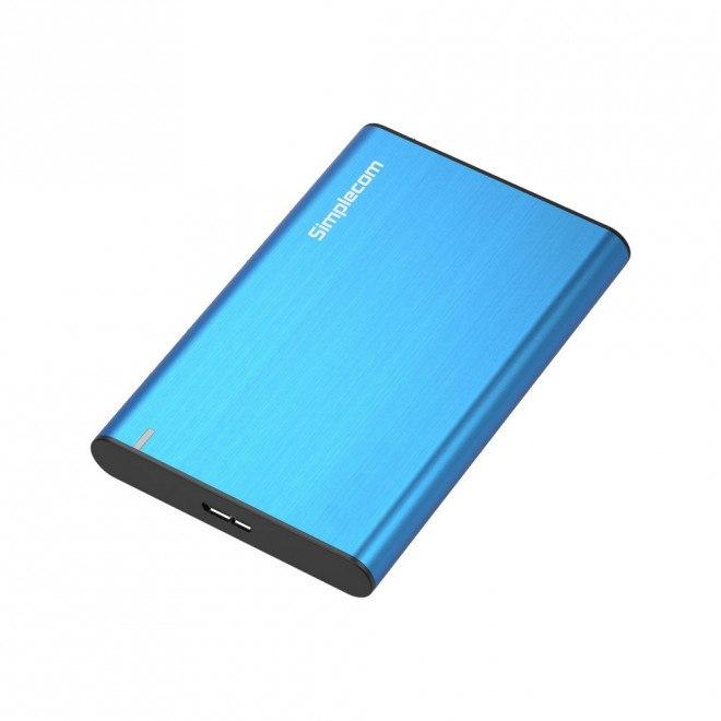 Simplecom Se211 Aluminium Slim 2.5'' Sata To Usb 3.0 HDD Enclosure Blue