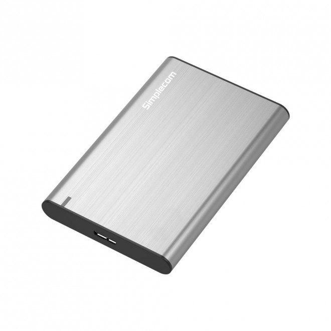 Simplecom Se211 Aluminium Slim 2.5'' Sata To Usb 3.0 HDD Enclosure Silver