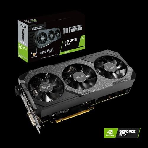 Asus nVidia Tuf 3-Gtx1660-A6g-Gaming GeForce GTX1660 Advanced Edition 6GB GDDR5 1830 Boost Non-RGB