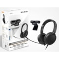 AVerMedia Ah313 Podcast, Conference Kit Cam 313 Live Stream 1080P And Ah313 Usb Conference Headset With Microphone Retail Pack