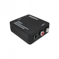 Simplecom CM121 Digital Optical Toslink And Coaxial To Analog Rca Audio Converter