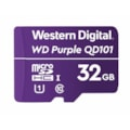 Western Digital WD Purple 32GB MicroSDXC Card 24/7 -25°C To 85°C Weather & Humidity Resistant For Surveillance Ip Cameras mDVRs NVR Dash Cams Drones