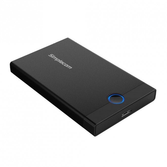 Simplecom Se209 Tool-Free 2.5' Sata HDD SSD To Usb 3.0 Enclosure