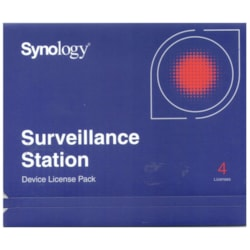 Synology Surveillance Device License Pack For Synology Nas - 4 Additional Licenses