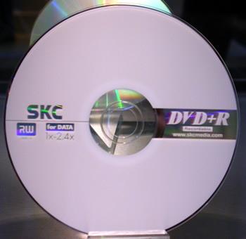 Leader Computer SKC 4.7GB 4X DVD+RW Media 10PK SKC Packaged 4.7Gb 4X DVD+RW