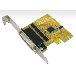 Sunix 4 Port Pcie Serial Card RS232,Plug N Play, Full Height