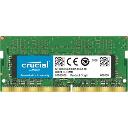 Micron Crucial 8GB (1x8GB) DDR4 2400MHz Sodimm CL17 Single Ranked