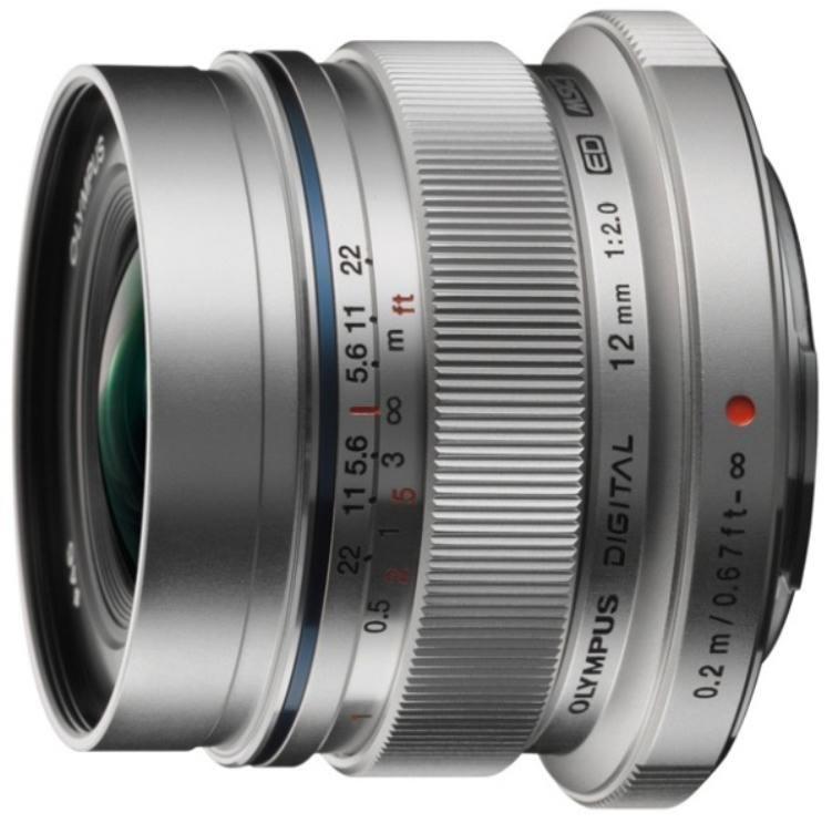 Olympus Ew-M1220 Silver 12MM F2.0