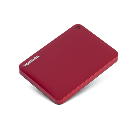 Toshiba Canvio Connect II 2 TB Hard Drive - External - Portable