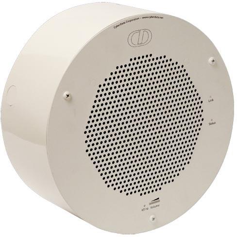 CyberData Conduit Speaker Mount - Gray White