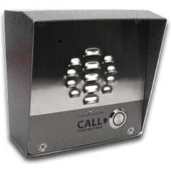 CyberData Single Button VoIP Intercom/Access Controller PoE Powered With Ip64 Rated Steel Case