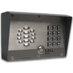 CyberData VoIP Intercom/Access Controller With Keypad PoE Powered With Ip64 Rated Steel Case