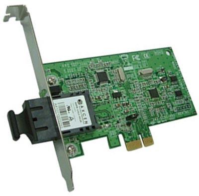 Alloy PCI-e 100Base-FX Multimode Nic (SC) With Asf
