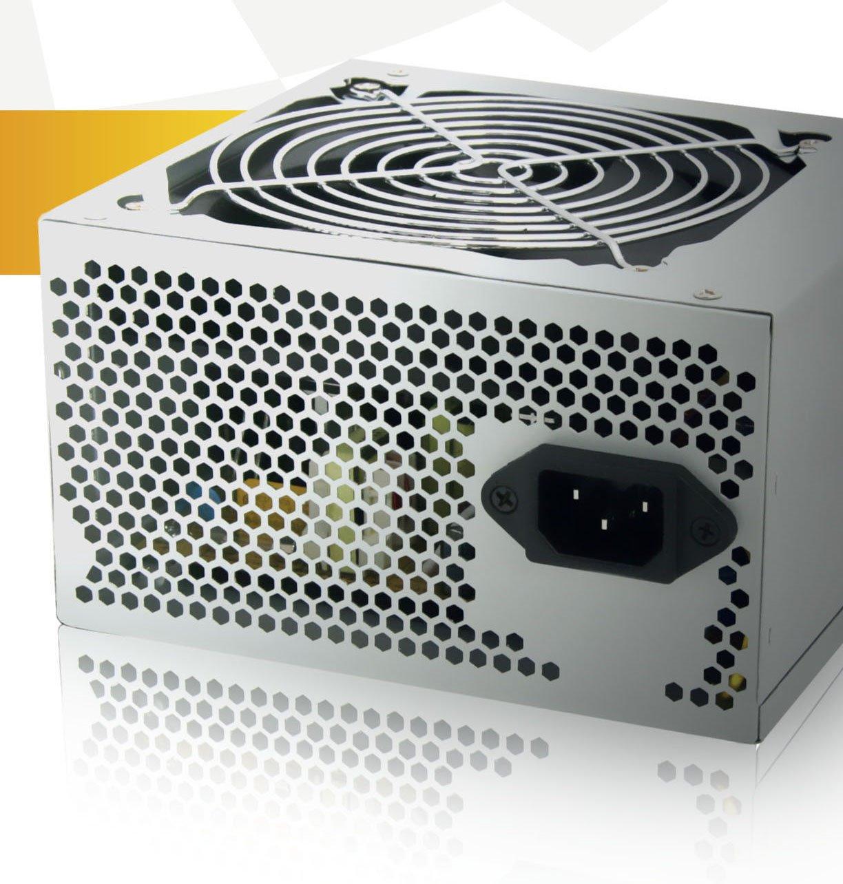 Aywun 600W Retail 120MM Fan Atx Psu 2 Years Warranty. Easy To Install