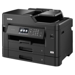 Brother Business Inkjet Multi-Function With A3 Printing Capability, Wireless Networking And Fax