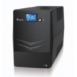 Delta VX Line Interactive 1000Va/600W Mini Tower Ups, 4X Au Outlet, 10A Input Cord, Free Ups Management Software Download, 2Y Ar Warranty (Include Battery)