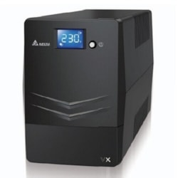 Delta VX Line Interactive 1500Va/900W Mini Tower Ups, 4X Au Outlet, 10A Input Cord, Free Ups Management Software Download, 2Y Ar Warranty (Include Battery)