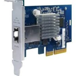 Qnap Single-Port 10Gbase-T Network Expansion Card For Tower And Rackmount Models