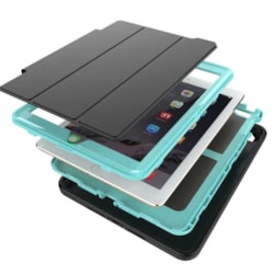 2in1 Rugged case for 6th Gen iPad Black