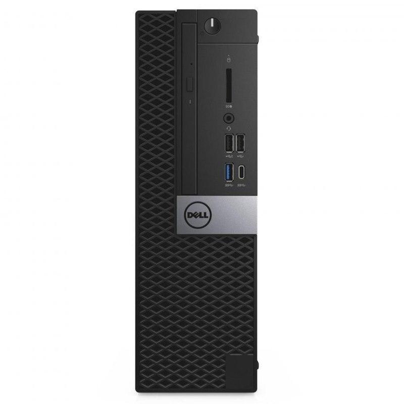 Dell Optiplex 5060 SFF, I5-8500, 8GB, 256GB SSD, DVDRW, No-Wl, W10P, 3Yos