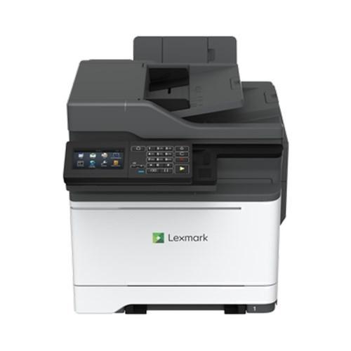 Lexmark Network Ready; Print/Copy/Scan/Fax; Duplex; 33PPM; 1.2 GHz Quad-Core; 2GB Ram; 4.3-Inch Tiltable Colour LCD Touch Screen; 1200X1200 Dpi;