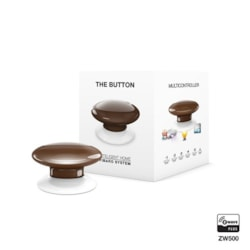 Fibaro Button Brown
