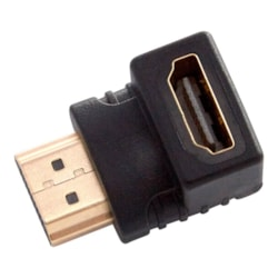 Westinghouse Whchdmif2m90 Hdmi 90 Degree Adaptor (Male To Female), Gold Connectors