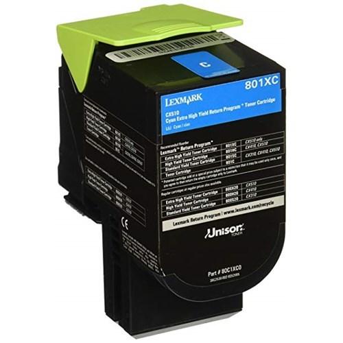 Lexmark 78C6xce Cyan Extra High Toner 5K For CS521 CS622 CX522 CX622 CX625