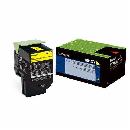 Lexmark 78C6xye Yellow Extra High Toner 5K For CS521 CS622 CX522 CX622 CX625