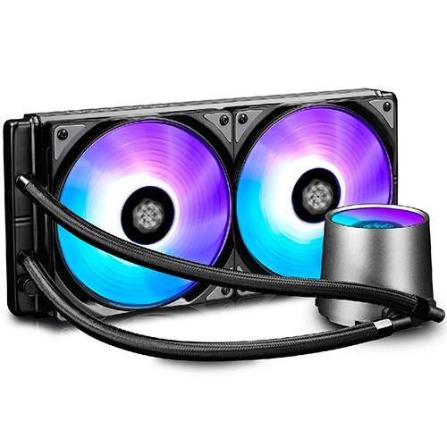 Deepcool Castle 280RGB Gamer Storm Cpu Liquid Cooler