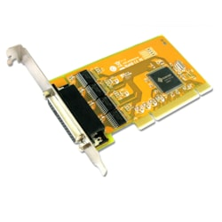 Sunix Ser5056a Pci 4-Port Serial RS-232 Card