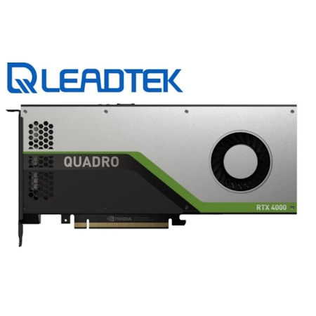 Leadtek nVidia Quadro RTX4000 PCIe Workstation Card 8 GB GDDR6