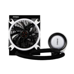 Antec Mercury 120 RGB Liquid Cpu Cooler, Large Pump, Efficient PWM Radiator Fan, Graphite Bearings, Lga 2066, 2011, Am4, FMx, 5 YRS Warranty