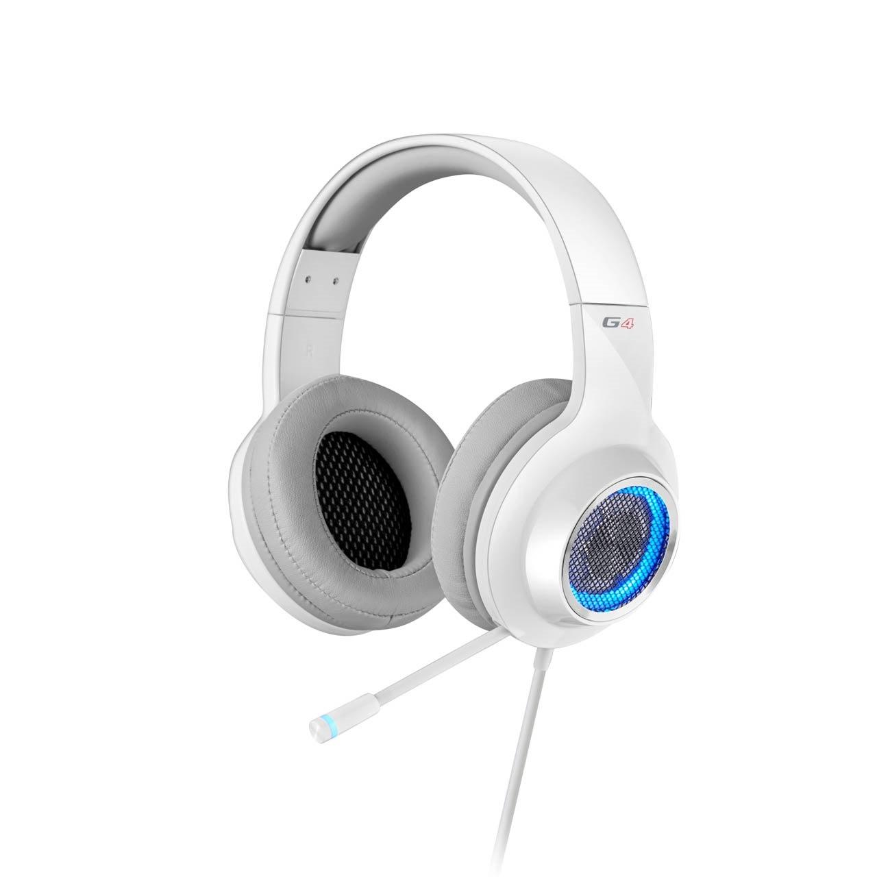 Edifier V4 (G4) 7.1 Virtual Surround Sound Usb Gaming Headset White