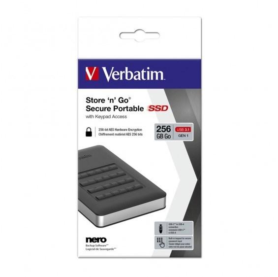 Verbatim Usb 3.1 Store N Go Secure SSD