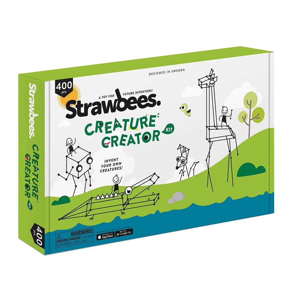 "Strawbees ""Strawbees Creature Creator Kit"""