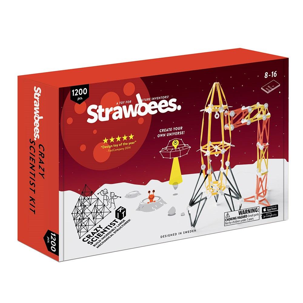 "Strawbees ""Strawbees Crazy Scientist Kit"""