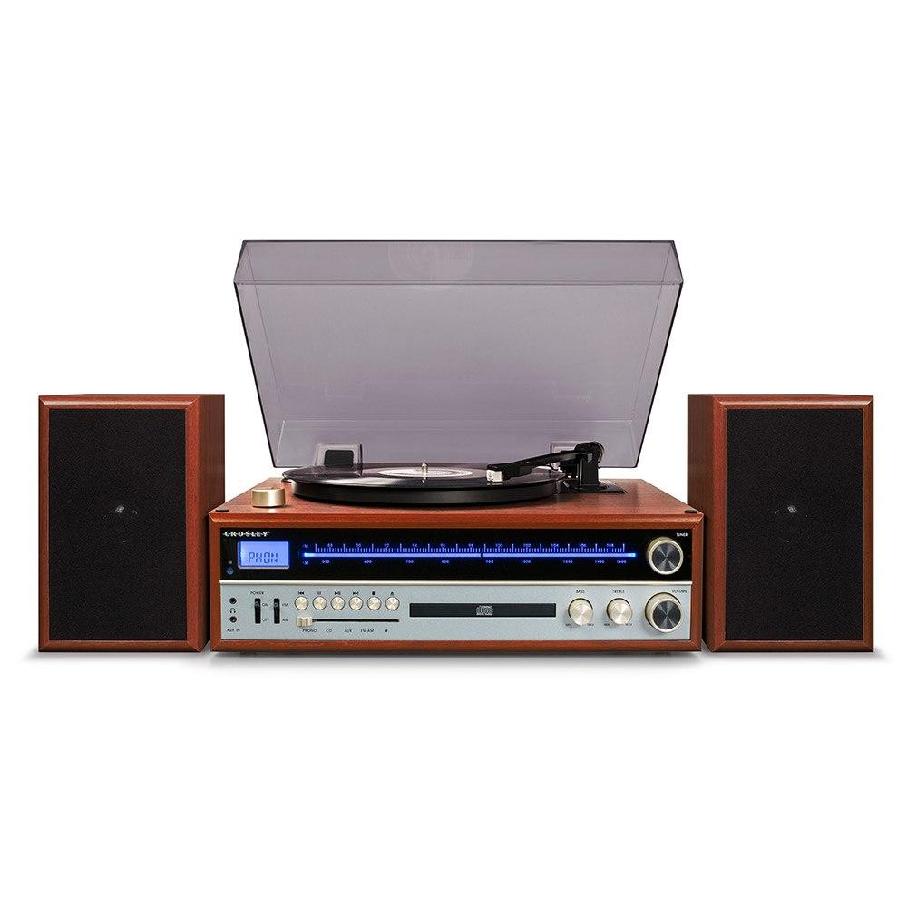 "Crosley ""Crosley 1975T Entertainment System - Walnut"""
