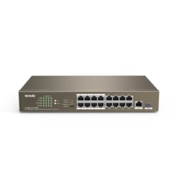 Tenda 16Fe+1Ge /1SFP With 16-Port Poe