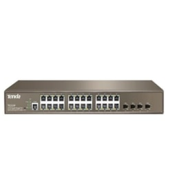 Tenda 24Ge+4Sfp With 24-Port Poe(Managed)