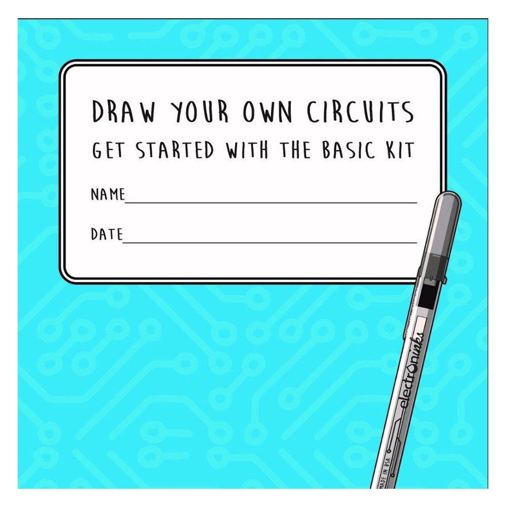 Circuit Scribe Basic Educational Booklet