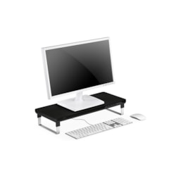 Deepcool (Ow Exclusive) Deepcool M-Desk C1 Monitor Stand With Usb Charger Black & Grey