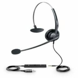 Yealink Wideband Noise Cancelling Headset, Usb, Includes 3.5MM Adapter