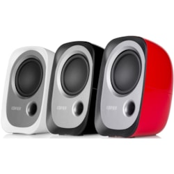 Edifier R12u Usb Compact 2.0 Multimedia Speakers System (White) - 3.5MM AUX/USB/Ideal For Desktop,Laptop,Tablet Or Phone