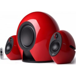 Edifier E235 Luna E 2.1 Home Entertainment/Gaming System Bluetooth Speaker Red - BT/3.5mm/Optical 5.8G Wireless Subwoofer/174W RMS/Optical Input