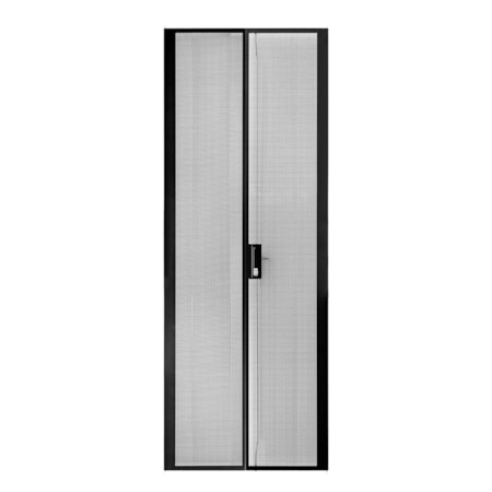Serveredge 45Ru 800MM Wide Peforated/Mesh Split Rear Door