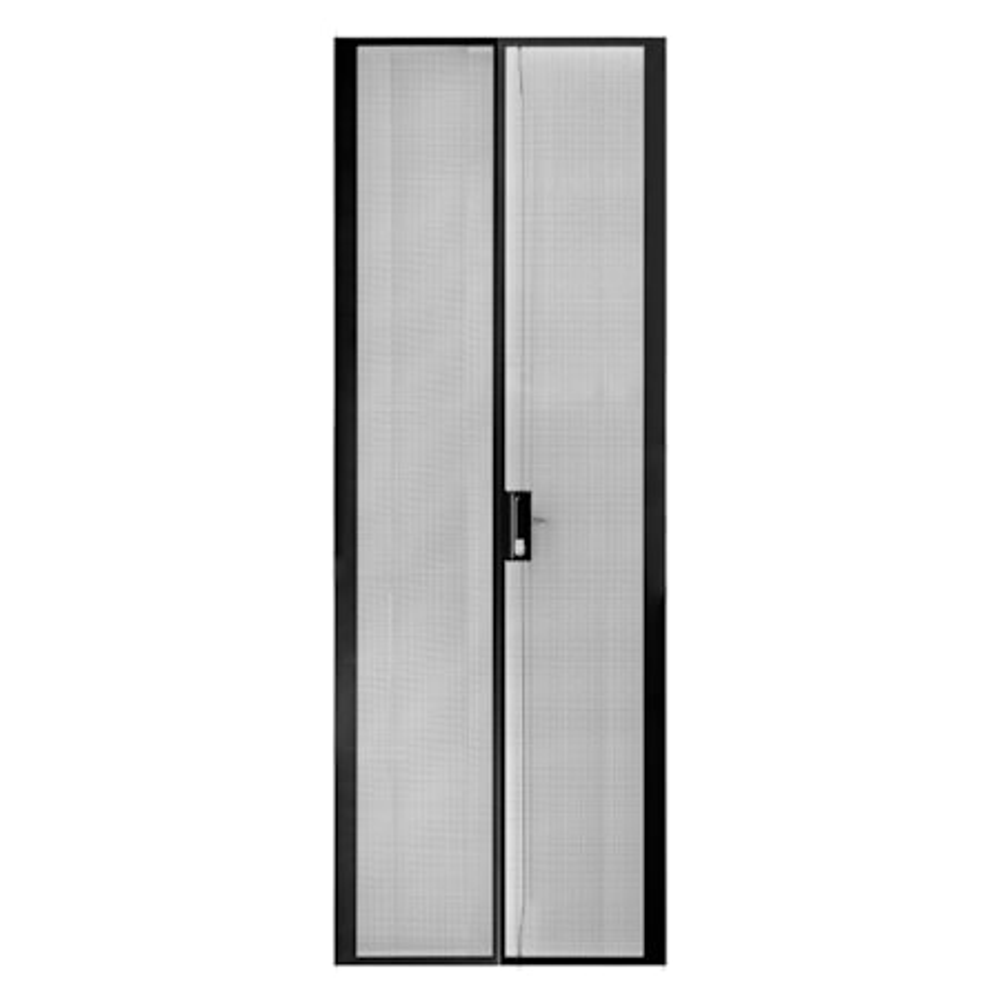 Serveredge 48Ru 800MM Wide Peforated/Mesh Split Rear Door