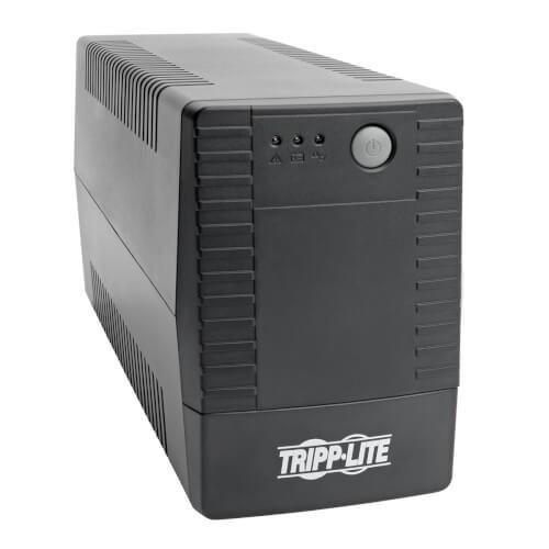 Tripp Lite VSX Series 650Va Line Interactive Tower Ups, 4xC13