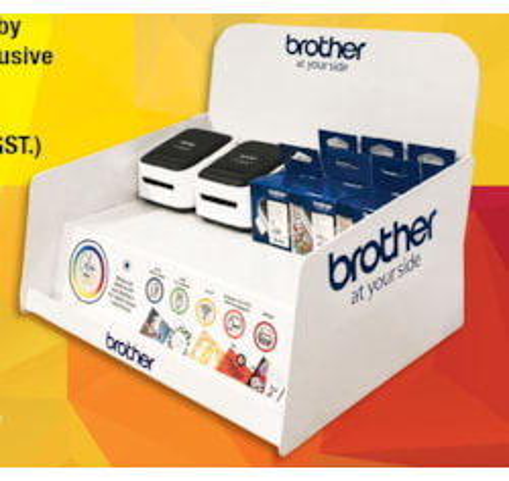 Brother VC-500W Colour Label Printer Starter Kit Bundle - Save Over 15%