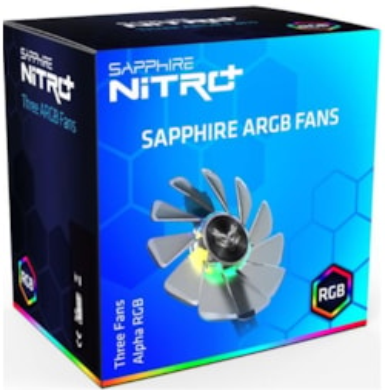 Sapphire Gear Argb Fan (3 In 1) For Nitro+ RX 5700 Series Lite